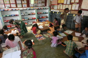Satellite School RIVER, Indien